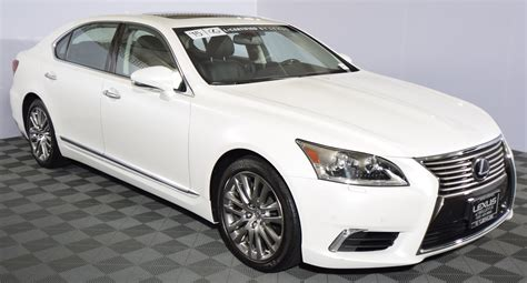 lexus sedan white lexus ls 460 l for sale used cars on buysellsearch