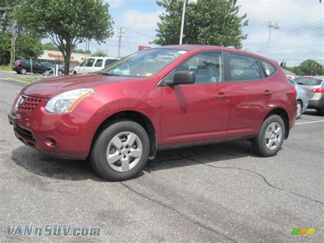 red nissan 2008 2008 nissan rogue s awd in venom red pearl 141927