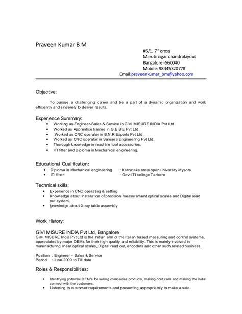 100 iti fitter resume format resume format for iti fitter fresher resume sles resume