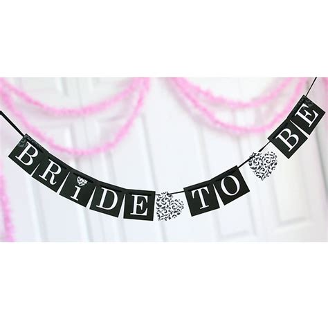 Banner Flag Bunting Flag Bridal Shower To Be Motif Flower to be bridal shower banner
