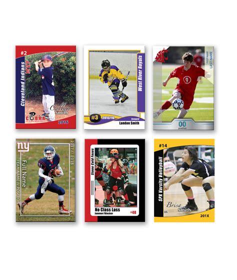 custom trading cards template custom trading cards sports custom sports cards