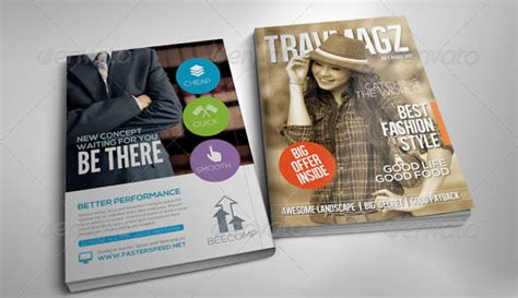 advertising magazine template free and premium print magazine templates 56pixels