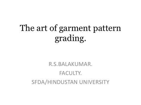patternmaking for fashion design slideshare the art of garment pattern grading