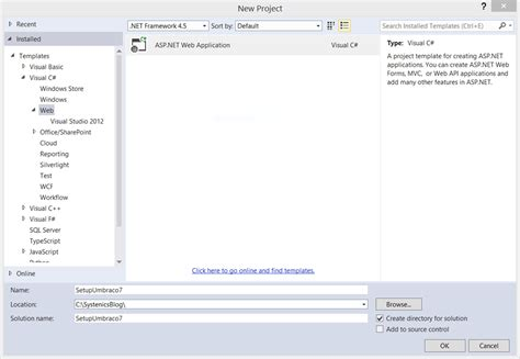 mvc templates for visual studio 2013 gallery templates