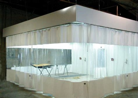paint booth curtain walls industrial curtains vinyl partitioning systems pvc