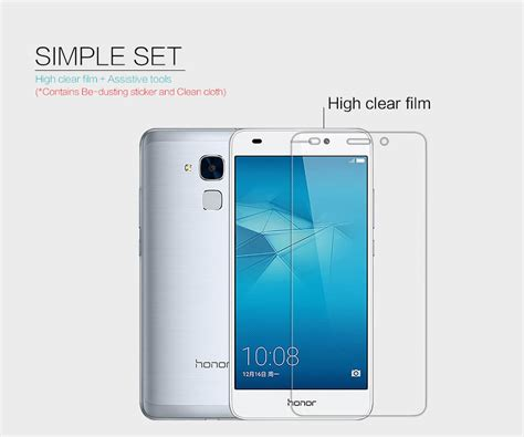 Huawei Honor 5c Nillkin nillkin clear anti fingerprint protective for huawei honor 5c honor nemo 5 2