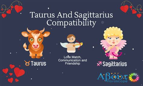 taurus and sagittarius compatibility love match