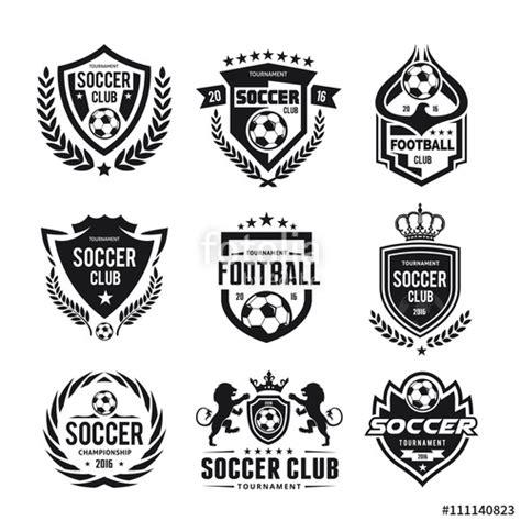 college seal template quot football college logo football logo soccer logo vector