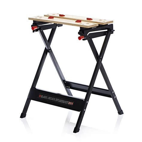black and decker work bench black and decker workbench foldable with cling action