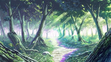 anime wallpapers and backgrounds anime forest backgrounds wallpaper cave