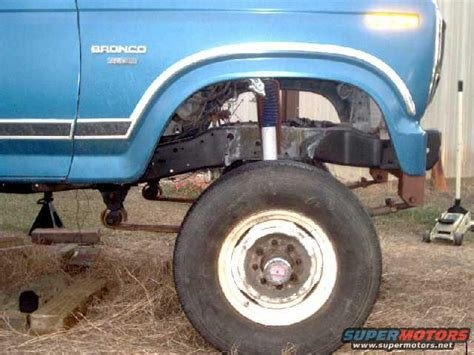 1984 ford bronco dana60 sas pictures and sounds