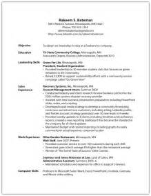 Standard Objective For Resume by Selling U R 233 Sum 233 And Cover Letter Essentials