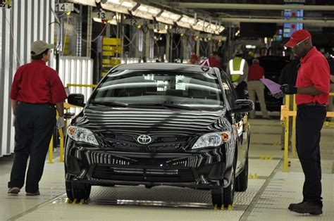 Toyota Tupelo Plant Toyota Begins Corolla Production In Mississippi