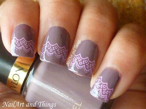 nailart and things smokin laces lacey nail art