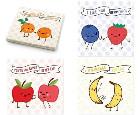 riddles for valentines day fruit friends s day cards inhabitots