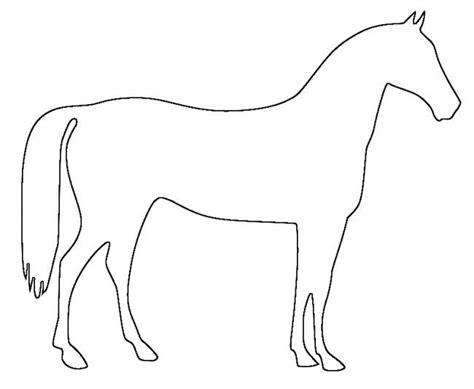 horse template animal templates free premium templates
