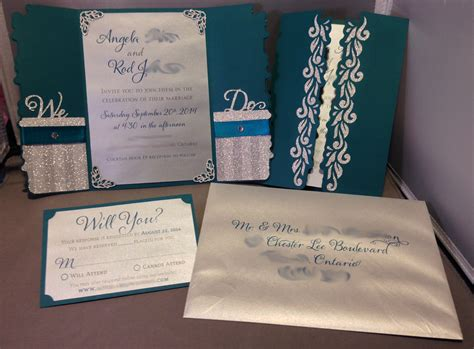 cameo wedding invitations your silhouette cameo crafts here