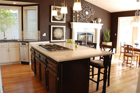 brown paint colors for kitchen cabinets feng shui kitchen paint colors pictures ideas from hgtv
