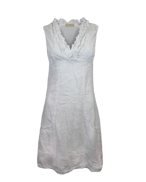 Wst 16612 Frill Collar Shirt womens italian linen frill collar top sleeveless