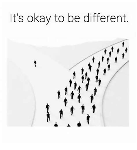 it s okay to be different l a meme on sizzle