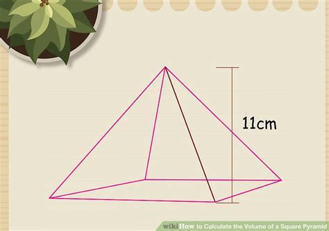How To Make A Three Sided Pyramid Out Of Paper - 2 easy ways to calculate the volume of a square pyramid