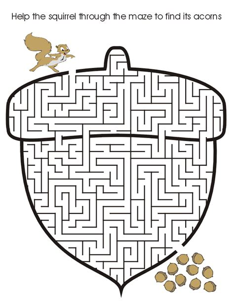mazes for kids coloring pages