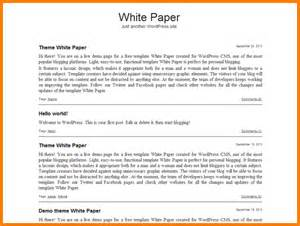 White Paper Template Word by Bill Template Bestsellerbookdb