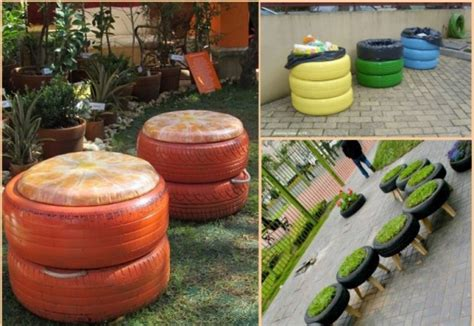 diy projects with tires creative colorful diy projects on how to reuse tires