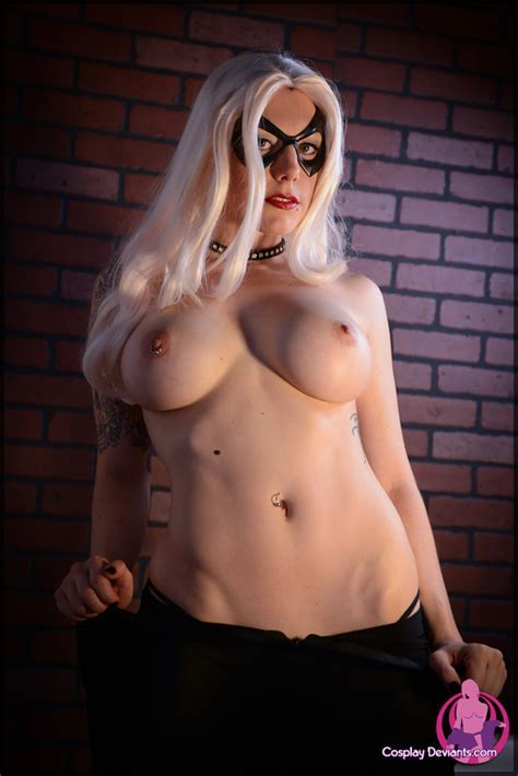 Squee Black Cat Cosplay