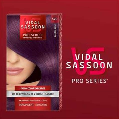 london lilac hair color reviews amazon com vidal sassoon london luxe 5vr london lilac 1