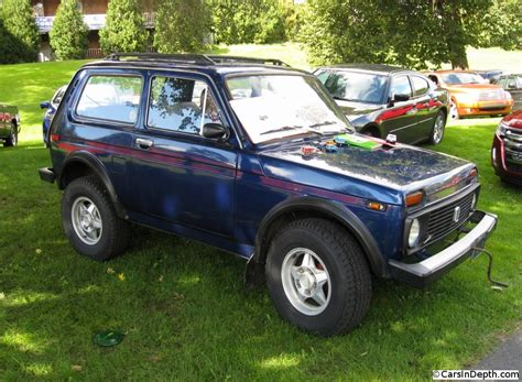 lada big give that starting his lada niva a big the