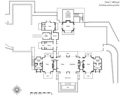 alans plans alan pye cottage huka lodge at huka falls lake taupo luxury lodge accommodation new zealand