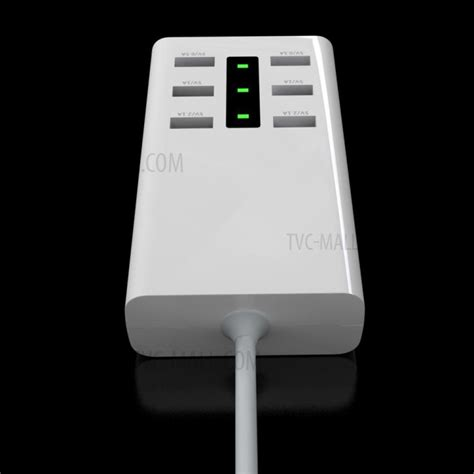 Ldnio A6702 6 Usb Ports 5v 7a Travel International Charger 5v 7a 6 port usb desktop wall charger travel adapter ce rohs uk tvc mall