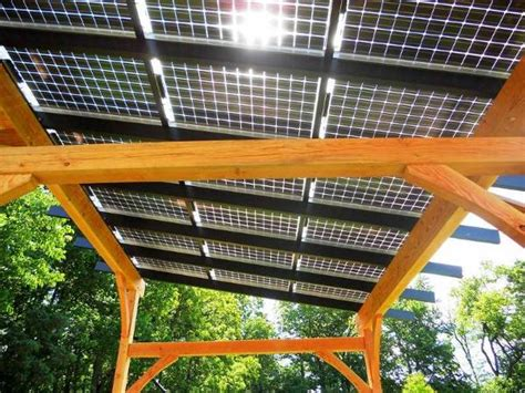 gazebo fotovoltaico la pergola fotovoltaica