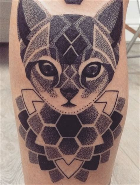 mandala tattoo uk dotwork cat mandala by lauren marie sutton at redwood