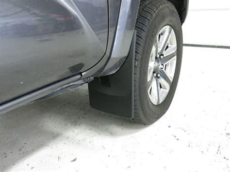 Toyota Mud Flaps 2016 Toyota Tacoma Mud Flaps Weathertech