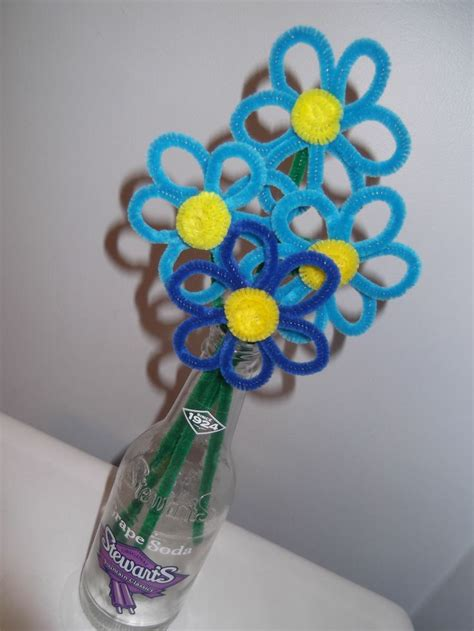 How To Make Tissue Paper Flowers Without Pipe Cleaners - 17 best ideas about pipe cleaner flowers on