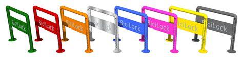 cadenas bici colores bicilock el parking de bicis con cadena ya incorporada