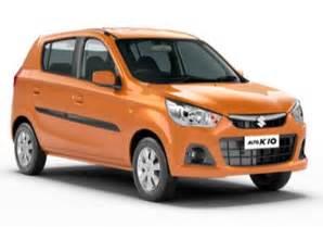 Maruti Suzuki Alto K 10 Maruti Alto K10 Price In India Review Pics Specs