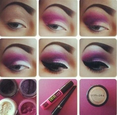 dramatic purple eyeshadow dramatic purple eye makeup pictures photos and images