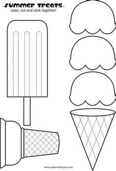 ice cream cone template will use this with felt for a