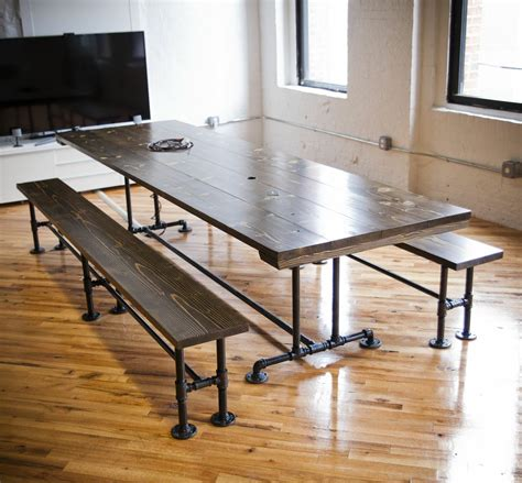 Industrial Conference Table Made Industrial Style Conference Table By Emmor Works Custommade