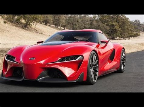 2018 sports cars upcoming 2018 toyota ft 1 concept sports car