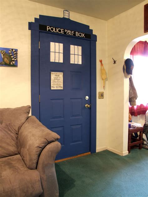 tardis bedroom door these are a few of my favourite things