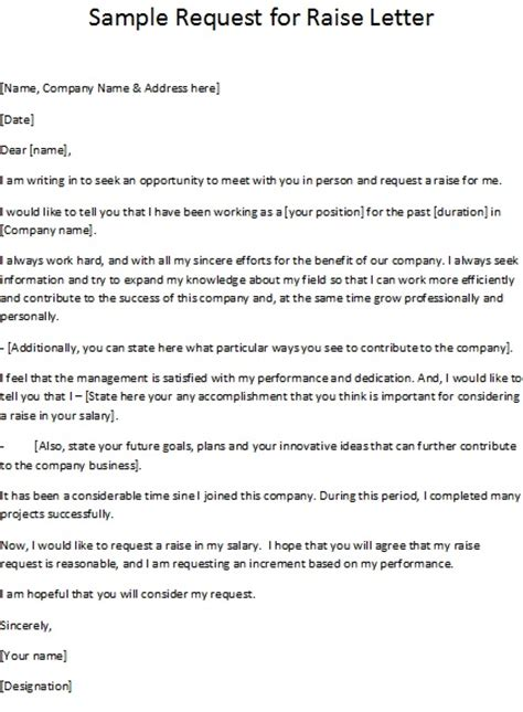 letter template salary increase to employee new raise letters