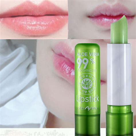 Nature Republic Aloe Vera Soothing Gel Lip Balm aloe vera 99 soothing moisture lip balm 11street