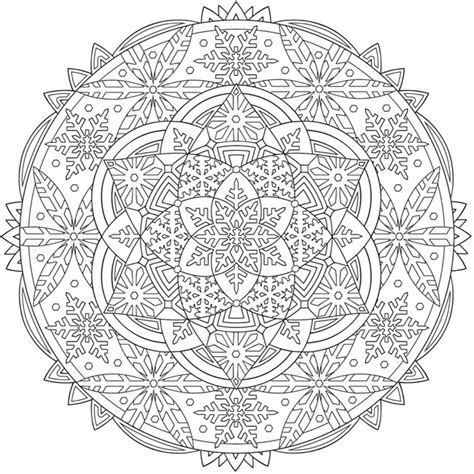 creative haven snowflake mandalas 0486803767 welcome to dover publications