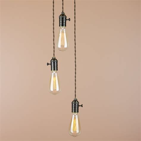 3 Light Hanging Pendant 3 Light Chandelier Cascading Pendant Lights By Bluemoonlights