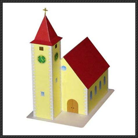 Paper Craft Square - papercraftsquare new paper craft a simple church