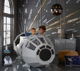 Pottery Barns Pottery Barn Millennium Falcon Cockpit Bed The Priciest